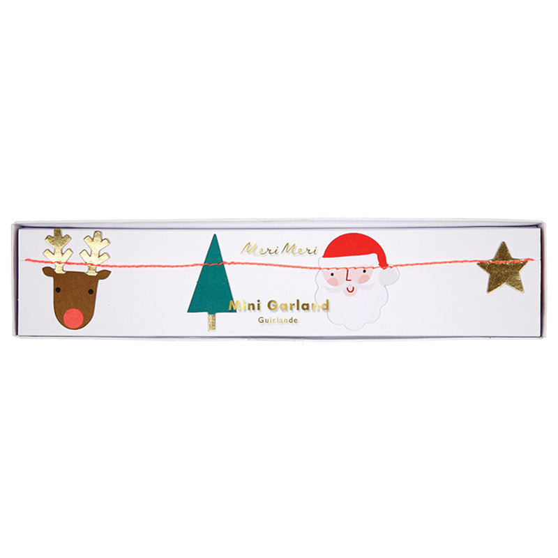 Meri Meri Santa Scene Christmas Mini Garland, MM-Meri Meri UK, Putti Fine Furnishings