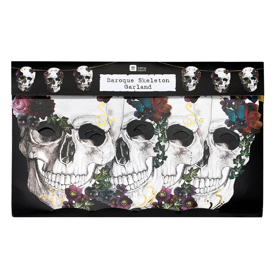Baroque Skeleton Garland
