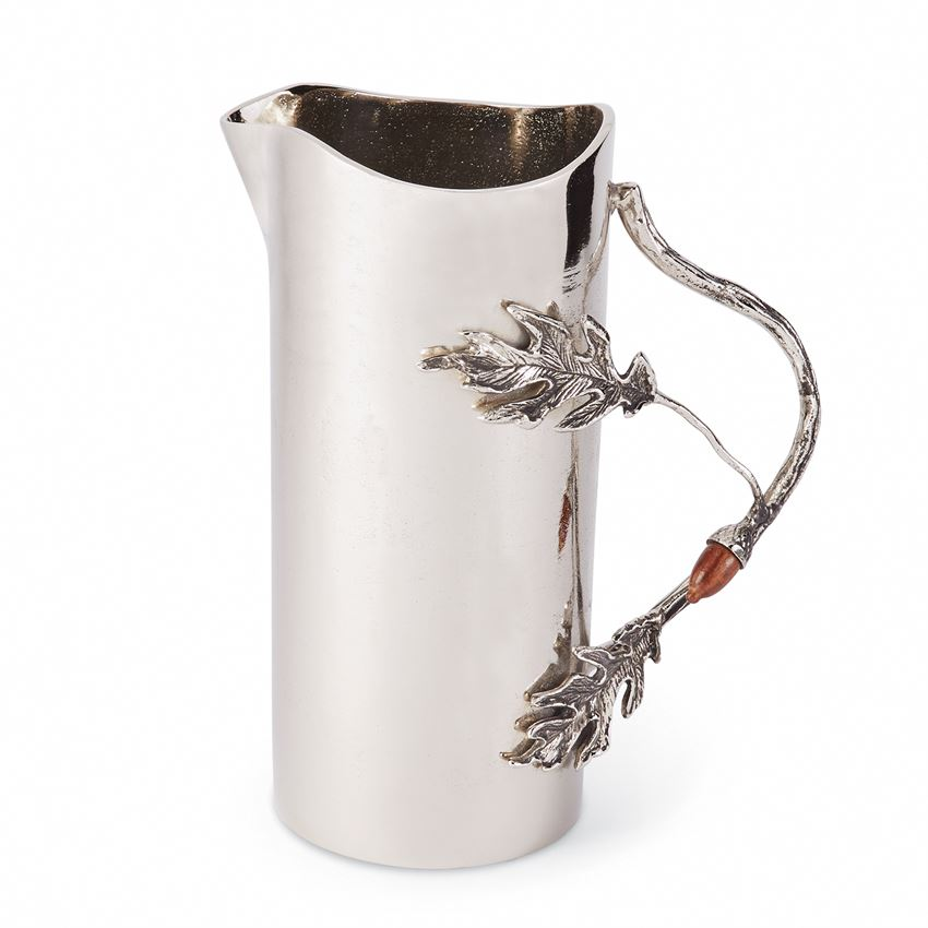 Acorn and Oak Leaf Pitcher, MP-Mud Pie, Putti Fine Furnishings