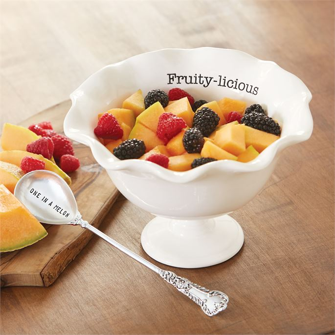 Fruit Pedestal Bowl Set, MP-Mud Pie, Putti Fine Furnishings