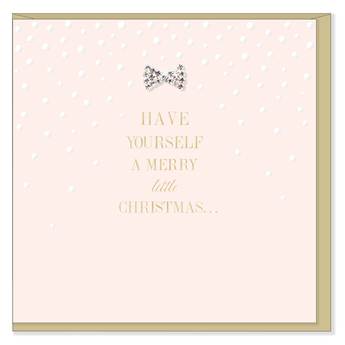 """Have Yourself a Merry Little Christmas"" Greeting Card"