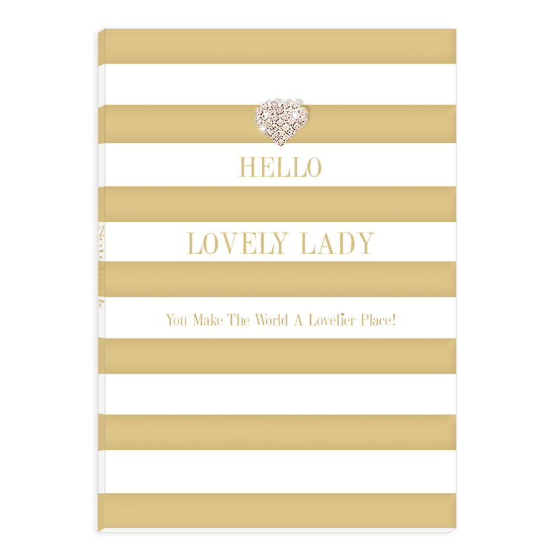 """Hello Lovely Lady..."" Note Book"