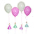 "Meri Meri ""I'm a Princess"" Party Balloon Holders, MM-Meri Meri UK, Putti Fine Furnishings"