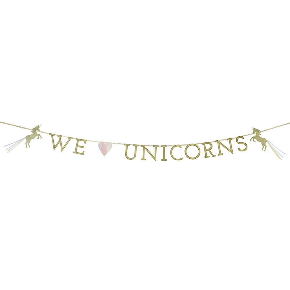 """We Heart Unicorns"" Magical Garland"