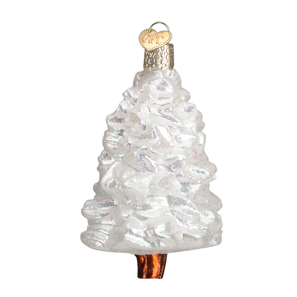 Old World Christmas Winter Wonderland Tree Glass Ornament -  Christmas Decorations - Old World Christmas - Putti Fine Furnishings Toronto Canada - 1