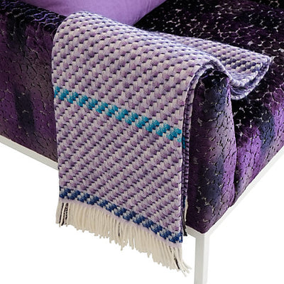 Designers Guild Kyaari Amethyst Throw, DG-Designers Guild, Putti Fine Furnishings