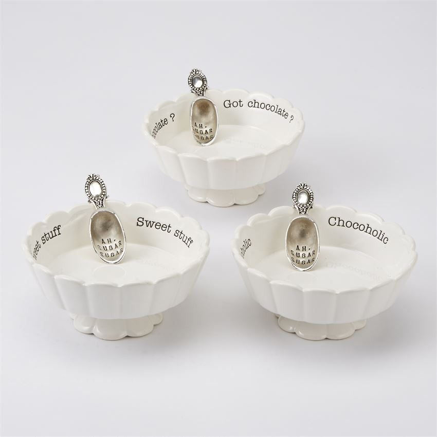 Chocoholic Candy Dish Set