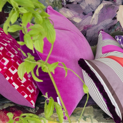 Designers Guild Cassia Magenta Decorative Pillows, DG-Designers Guild, Putti Fine Furnishings