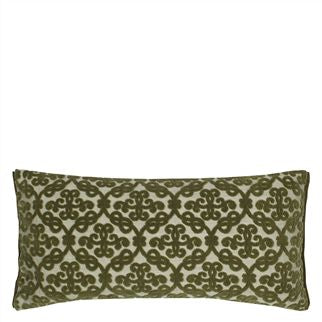 Royal Collection St James Palace Peridot Cushion, DG-Designers Guild, Putti Fine Furnishings