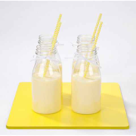 Mini Plastic Milk Bottles-Party Supplies-TT-Talking Tables-Putti Fine Furnishings