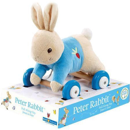Peter Rabbit Pull Along Toy, KP-Kids Preffered, Putti Fine Furnishings