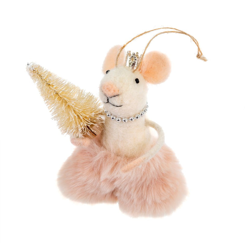 """Elegant Emmeline"" Felt Ornament 