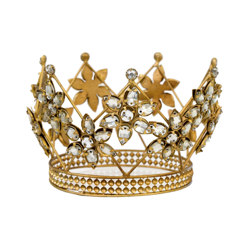 Victoria Jewelled Crown  - Putti Fine Furnishings Canada