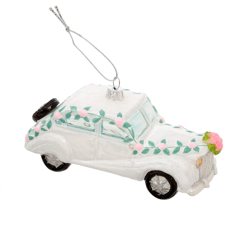 """Just Married"" Wedding Car Ornament, IT-Indaba Trading, Putti Fine Furnishings"