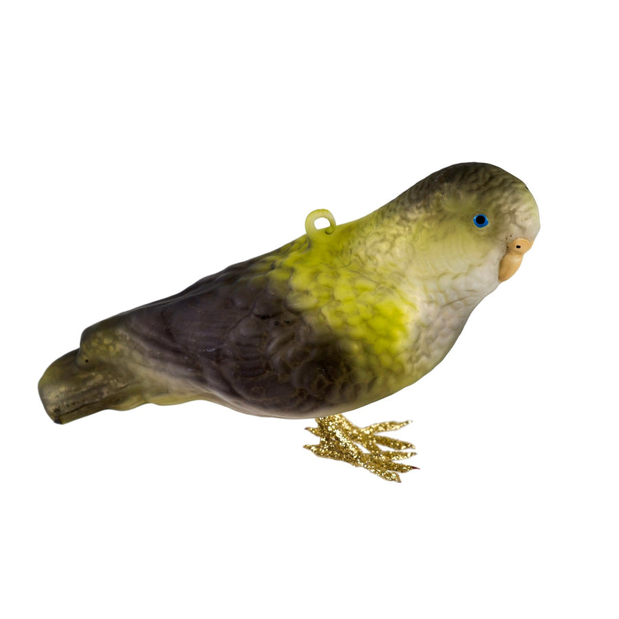 Glass Parrot Ornament