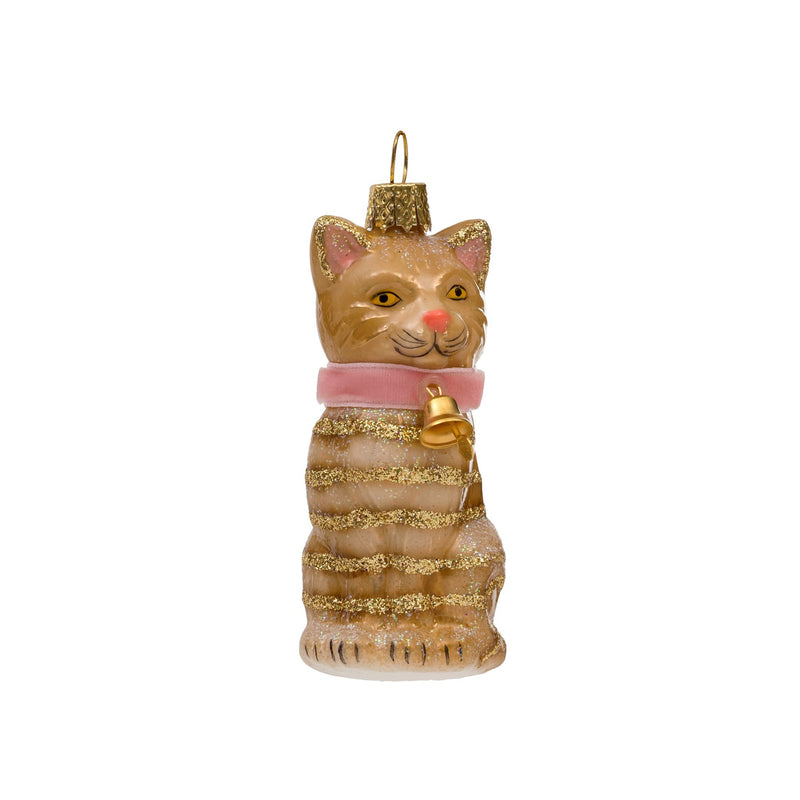 Happy Cat Ornament -  Christmas - IT-Indaba Trading - Putti Fine Furnishings Toronto Canada