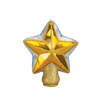 Old World Christmas Glass Star Tree Topper - Small -  Christmas Decorations - Old World Christmas - Putti Fine Furnishings Toronto Canada - 1