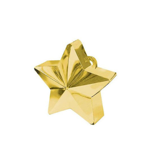 Gold Star Balloon Weight, SE-Surprize Enterprize, Putti Fine Furnishings