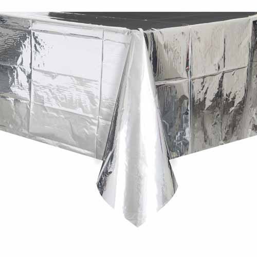 Silver Foil Table Cloth, BM-Balloon Market, Putti Fine Furnishings