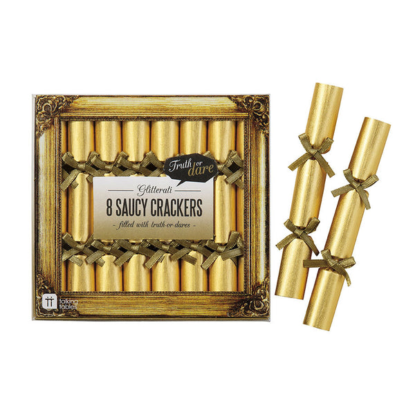 Glitterati Saucy Crackers -  Party Crackers - Talking Tables - Putti Fine Furnishings Toronto Canada - 1