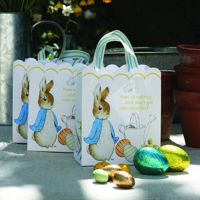 Meri Meri Peter Rabbit Easter Party Bags -  Party Supplies - Talking Tables - Putti Fine Furnishings Toronto Canada - 2