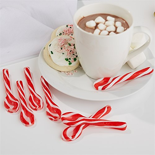 Peppermint Swirls Spoons in Giftbox