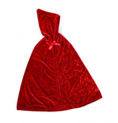 Little Red Ridding Hood Velvet Cape-Dress Up Costumes-Creative Education-Putti Fine Furnishings