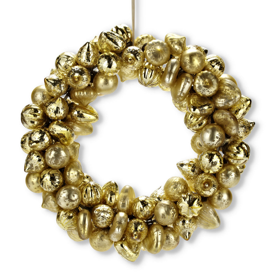 Mini Kugel Ornament Wreath