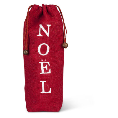 Red Word Wine Bags - Noel Christmas - AC-Abbott Collection - Putti Fine Furnishings Toronto Canada - 3