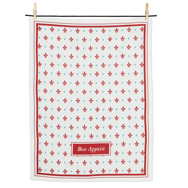 Bon Appetit Tea Towel | Putti Fine Furnishings