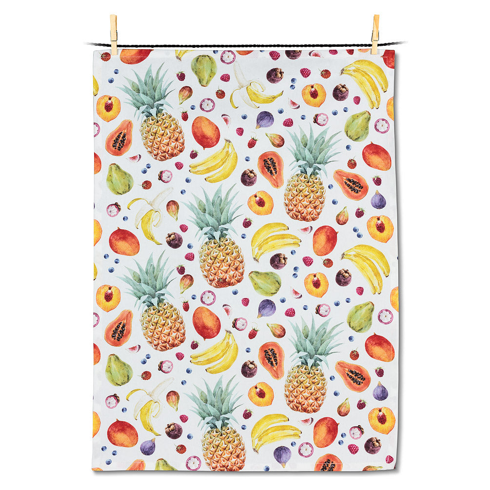 Fruit Explosion Tea Towel | Putti Fine Furnishings