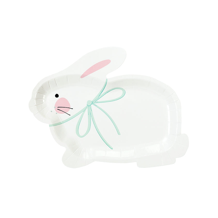Bunny Shaped Paper Plates