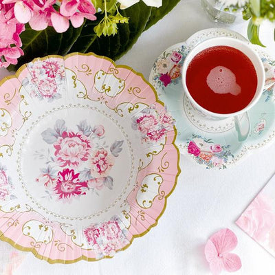 Arriving Soon! Truly Scrumptious Teacup & Saucer Set -  Party Supplies - Talking Tables - Putti Fine Furnishings Toronto Canada - 3