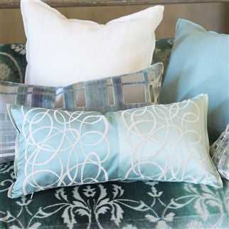 Designers Guild Marquisette Cushion - Celadon -  Soft Furnishings - DG-Designers Guild - Putti Fine Furnishings Toronto Canada - 3