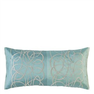 Designers Guild Marquisette Cushion - Celadon -  Soft Furnishings - DG-Designers Guild - Putti Fine Furnishings Toronto Canada - 1