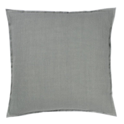 Brera Lino Zinc Decorative Pillow