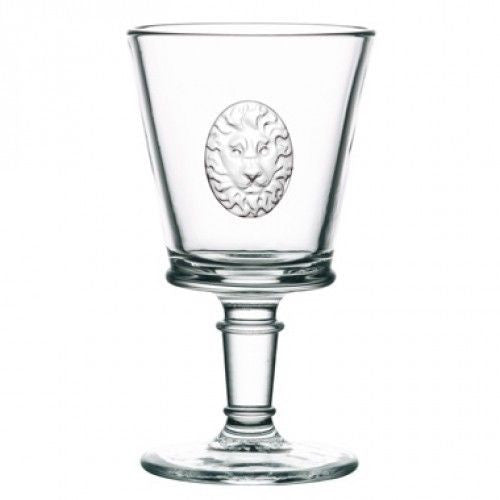 La Rocher Lion Wine Glass - 9oz-Glassware-PG-Premier Gift -La Rochere-Putti Fine Furnishings