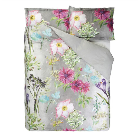 "Designers Guild Madhuri Camellia Bedding-Bedding-DG-Designers Guild-European Sham 26"" x 26"" ( 65 x 65cm )-Putti Fine Furnishings"