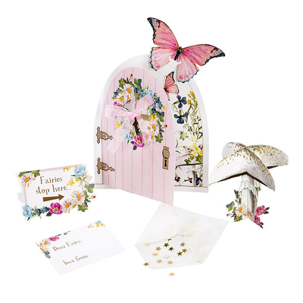 Talking tables truly fairy butterfly party le petite for Fairy door kits canada