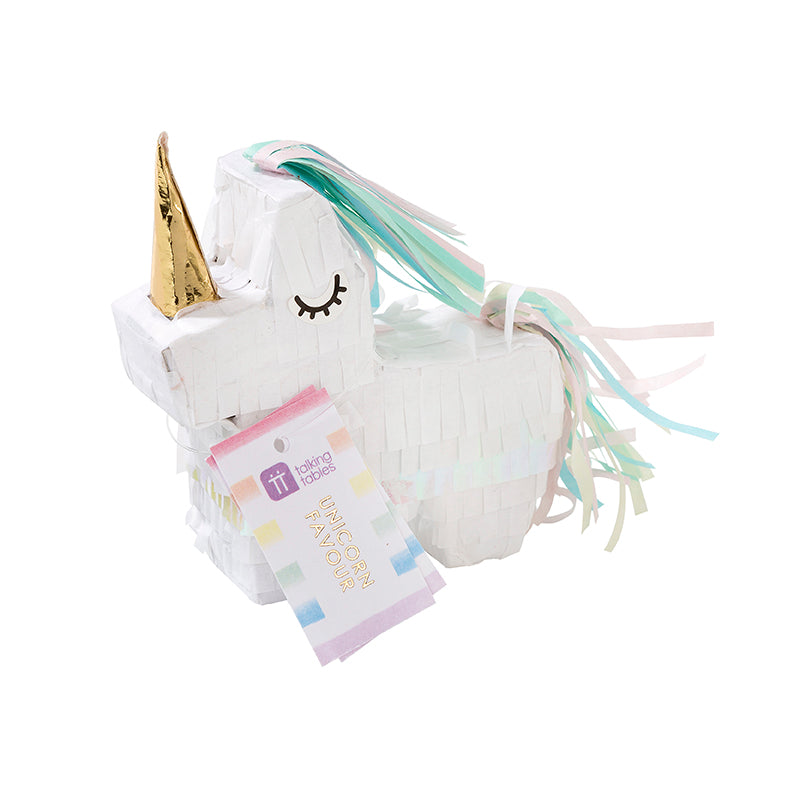 """We Heart Unicorns"" Mini Piñata"