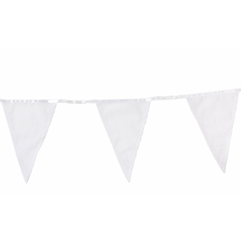 White Fabric Bunting, TT-Talking Tables, Putti Fine Furnishings