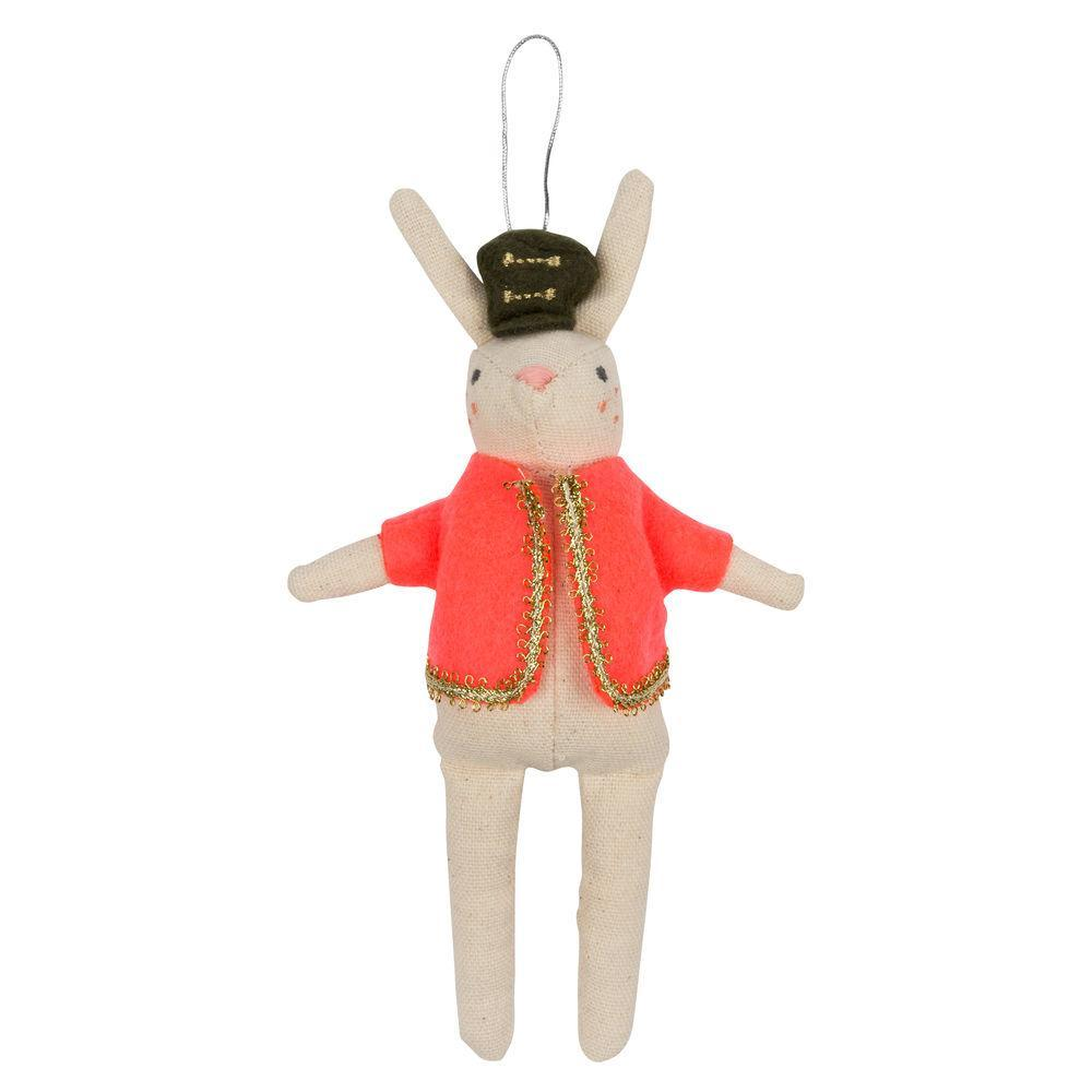 Meri Meri Rabbit Soldier Tree Decoration | Putti Christmas