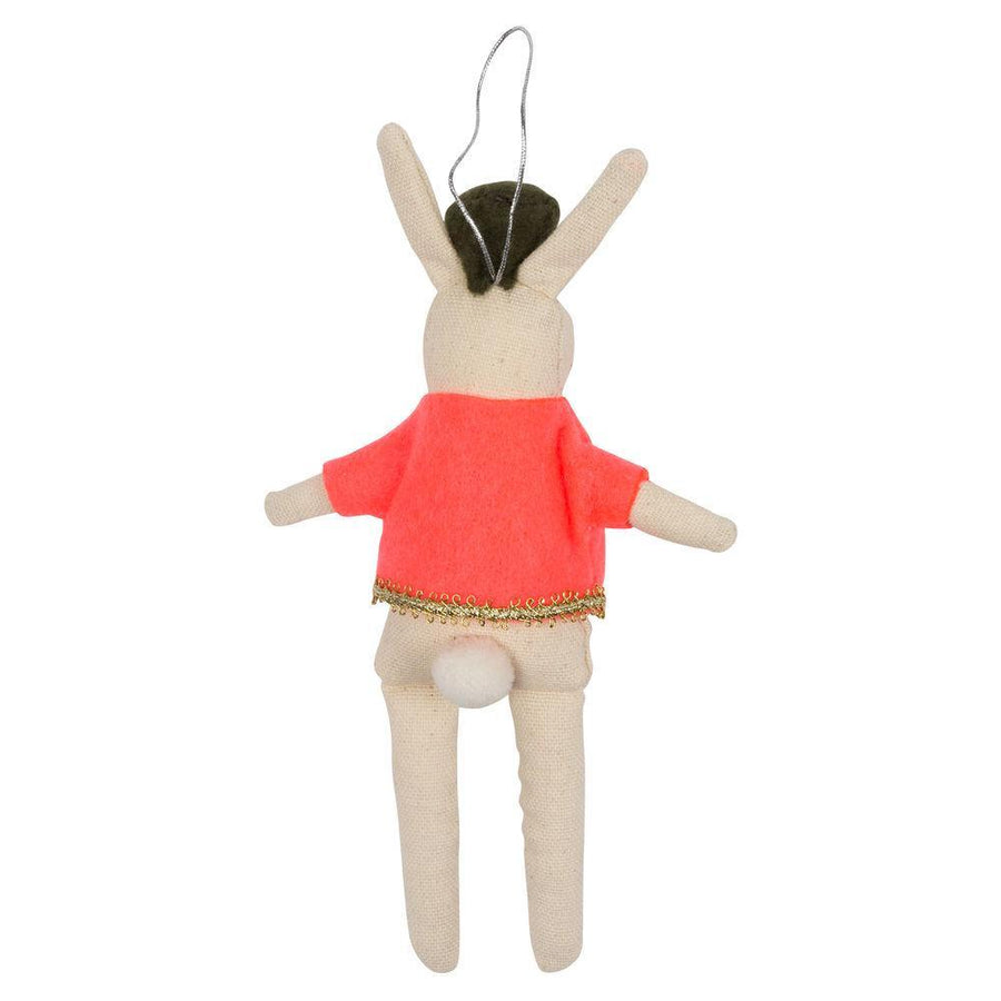 Meri Meri Rabbit Soldier Tree Decoration