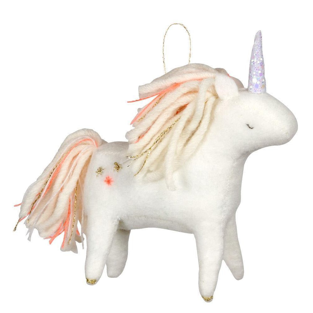 Meri Meri Unicorn Felt Tree Decoration | Putti Christmas