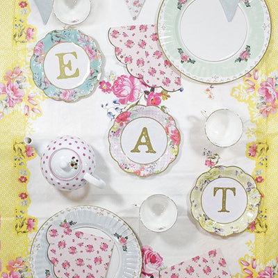 "Truly Scrumptious Small ""Eat"" Plates - Small -  Decorations - Talking Tables - Putti Fine Furnishings Toronto Canada - 3"