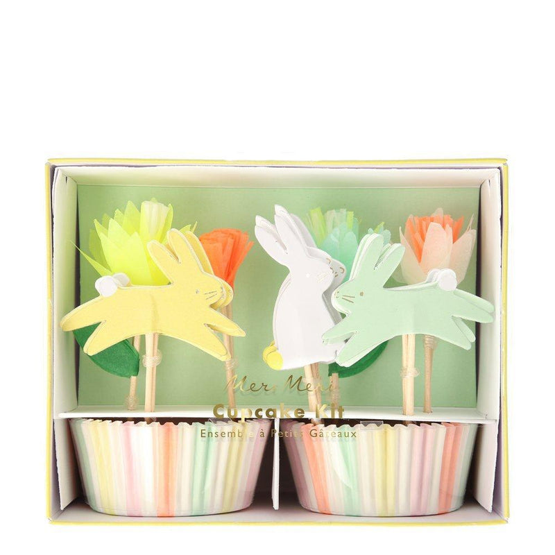 Meri Meri Floral Bunny Cupcake Kit  | Putti Easter Celebrations