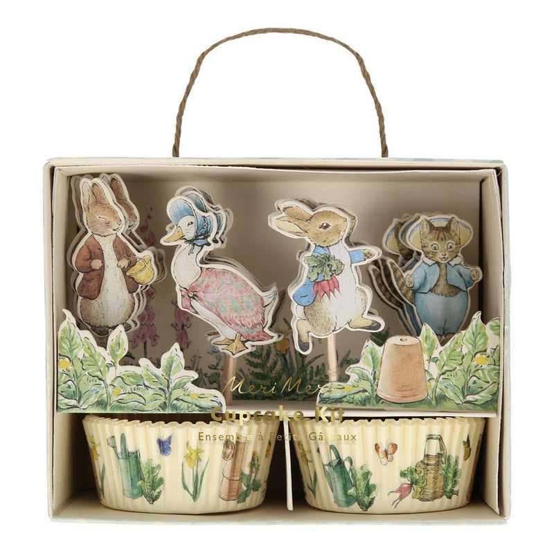 Meri Meri Peter Rabbit & Friends Paper Cupcake Kit | Putti Party Supplies