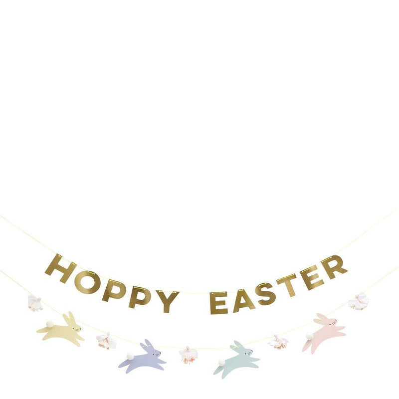 Meri Meri Pastel Hoppy Bunny Garland | Putti Easter Party Supplies