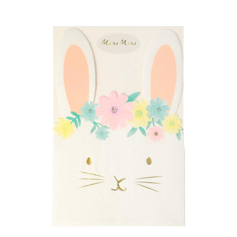 Meri Meri Floral Bunny Paper Napkins | Putti Party Supplies