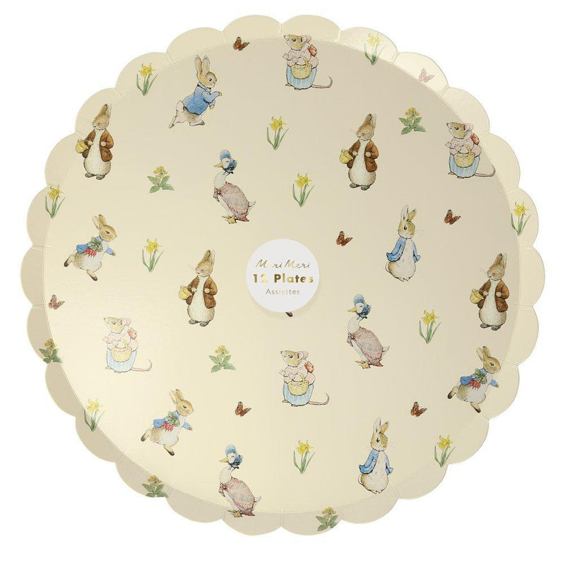 Meri Meri Peter Rabbit & Friends Paper Side Plates